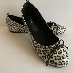 Chicos Animal Print Patent Shoes